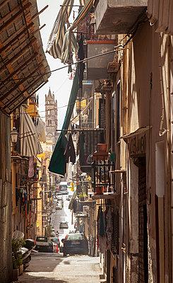 Narrow alley in Palermo - p382m2186097 by Anna Matzen