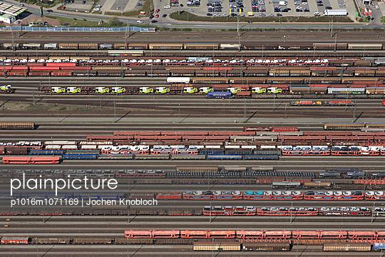 Rangierbahnhof - p1016m1071169 von Jochen Knobloch