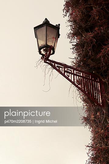 Historic street lamp - p470m2208735 by Ingrid Michel