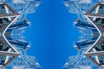 Abstract Architecture Kaleidoscope Boston - p401m2221900 by Frank Baquet