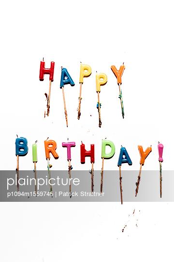 Happy Birthday Dekoration - p1094m1559745 von Patrick Strattner