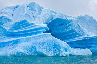 Iceberg from Upsala Glacier in Los Glaciers National Park, Argentine Patagonia; Santa Cruz, Argentina - p442m1191391 by Alvis Upitis