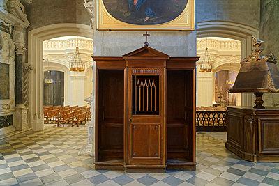Confessional Alcove - p1154m2093383 by Tom Hogan