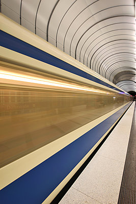 Metro in Munich - p1399m1442188 by Daniel Hischer