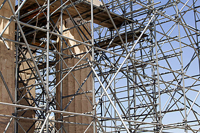 Säulen restaurieren - p2410106d von L.B.Jeffries