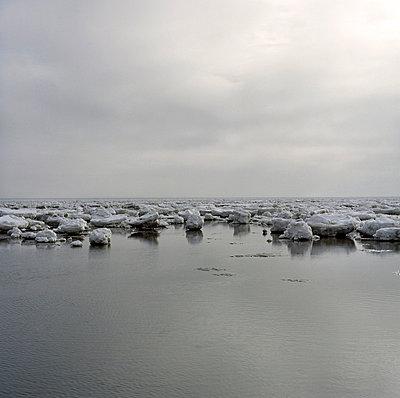 Eis im Wattenmeer - p3420369 von Thorsten Marquardt