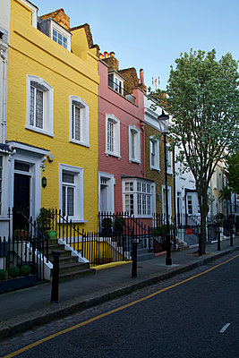 Great Britain, London, Terraced houses - p1399m2204259 by Daniel Hischer