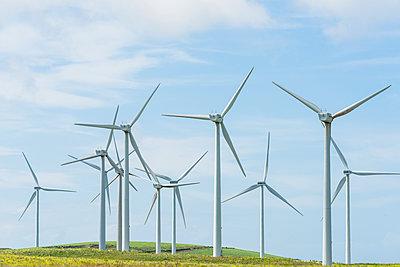 Windkraftanlage - p488m1169011 von Bias
