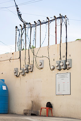 Electricity meter - p1293m1128538 by Manuela Dörr