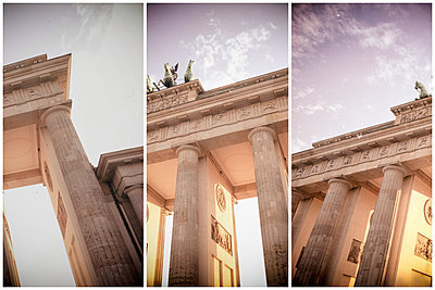 Germany, Berlin, Brandenburger Tor, partial views - p300m1153586 by Christine Müller