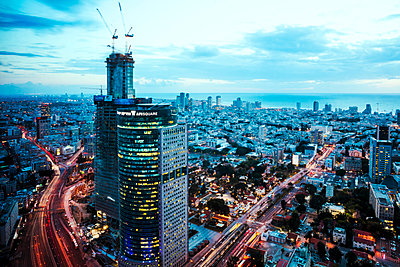 Tel Aviv - p416m1497989 von Jörg Dickmann Photography