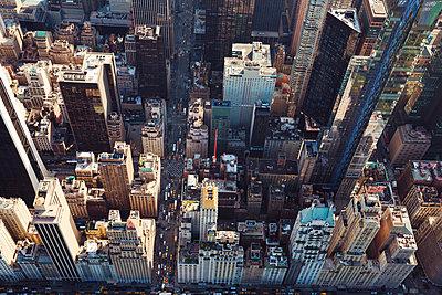 New York aus der Luft - p432m1172391 von mia takahara