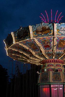 Carousel, Foire du Trone, Paris - p1028m2087897 von Jean Marmeisse