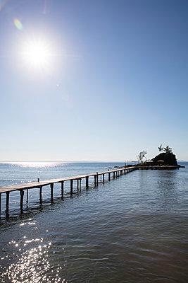 Steg zur Insel - p1272m1515612 von Steffen Scheyhing