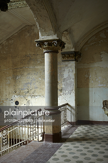 Abandoned corridor - p1010m2278369 by timokerber