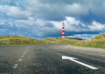 Lighthouse at Ameland - p1132m1016990 by Mischa Keijser