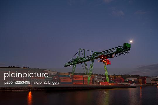 Container Terminal - p280m2253495 by victor s. brigola