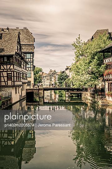 Frankreich, Straßburg, La Petite France - p1402m2205574 von Jerome Paressant