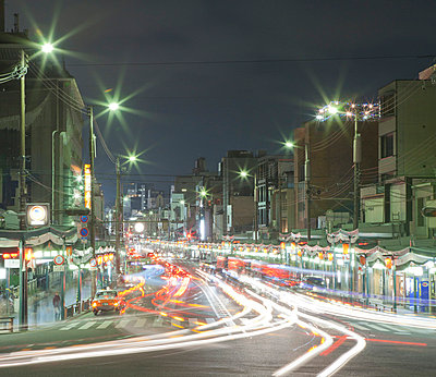 Kyoto at night - p7980205 by Florian Loebermann