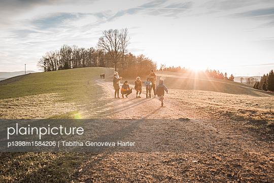 Familienausflug - p1398m1584206 von Tabitha Genoveva Harter