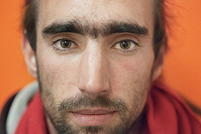 Man with brown eyes - p1118m1539788 by Tarik Yaici
