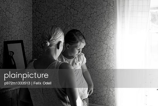 Schwadin mit Kind - p972m1333513 von Felix Odell