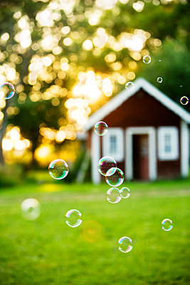Soap bubbles - p972m1136664 by Berno Hjoe_lmrud