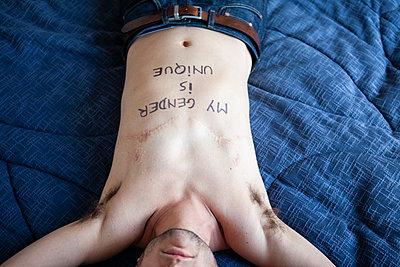 My gender is unique - p1513m2143138 by ESTELLE FENECH