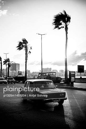 Verkehr auf der Corniche in Alexandria  - p1325m1451204 von Antje Solveig