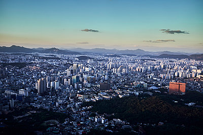 View over Seoul - p1492m2178696 by Leopold Fiala