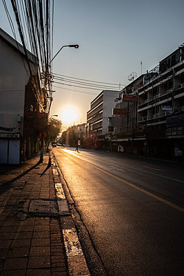 Sunset in Bangkok - p1567m2173429 by Claire Picheyre