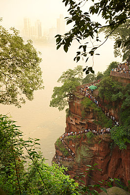 Leshan, China - p1259m1064605 von J.-P. Westermann