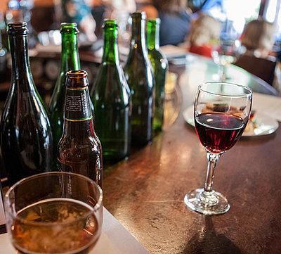 Drinks on CafŽ Bar 2 - p694m1498449 by Spencer Jones