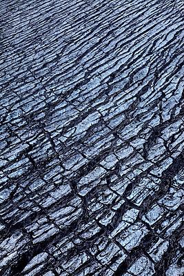 Aerial view of Vatnajökull, glacier, rock formation, Iceland - p1026m992058f by Romulic-Stojcic