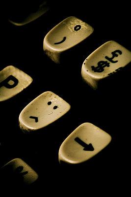 Symbole auf einer Tastatur - p4450304 von Marie Docher