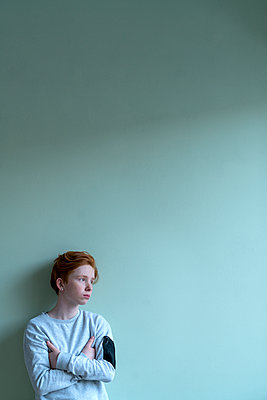 Red-haired girl - p427m2142149 by Ralf Mohr