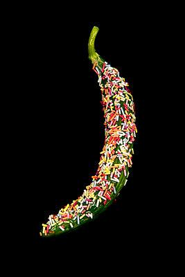 Gezuckerte Salatgurke - p451m1589265 von Anja Weber-Decker