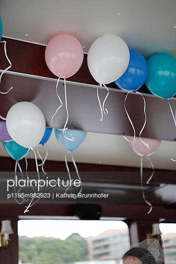 Luftballons - p1195m982923 von Kathrin Brunnhofer