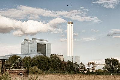 Heizkraftwerk - p1222m1333234 von Jérome Gerull