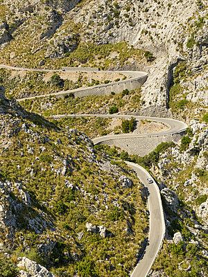 Serpentienen nach Sa Calobra - p885m1215143 von Oliver Brenneisen