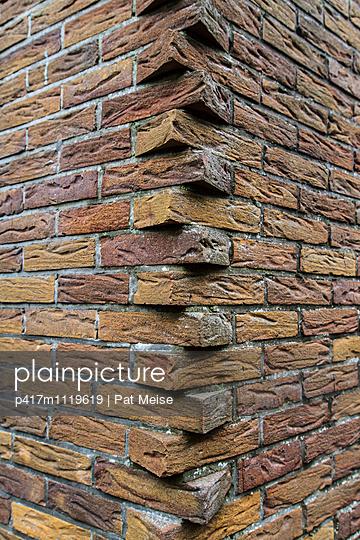 Brick-work - p417m1119619 by Pat Meise