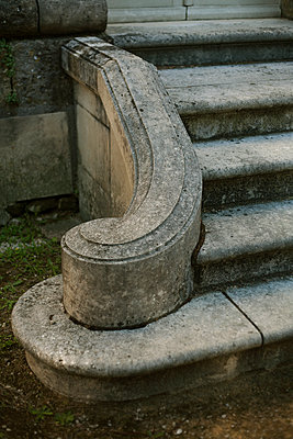 Classic stairs - p1028m1071145 by Jean Marmeisse