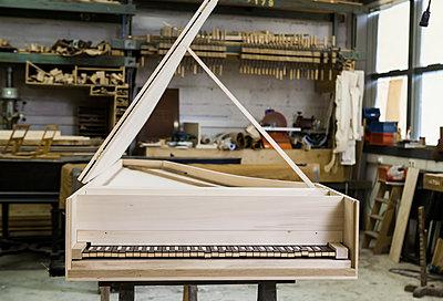 Harpsichord - p1371m1466257 by virginie perocheau