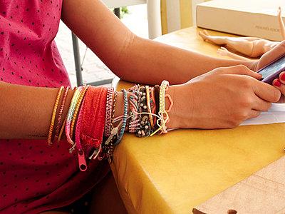 Bracelets - p1499m2013695 by Marion Barat