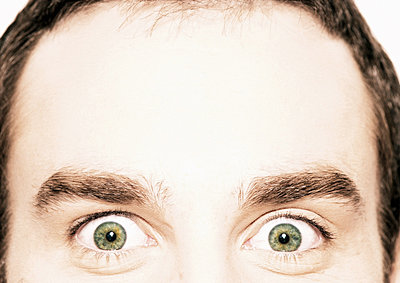 Man's eyes and forehead - p62317129f by I. Rozenbaum & G. Paille