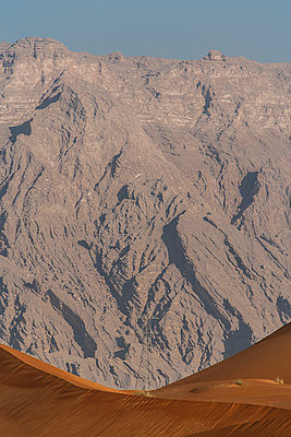 Desert with rock face in background - p280m1137334 by victor s. brigola