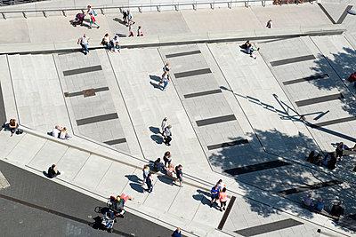 Blick von der Elbphilharmonie - p451m1466928 von Anja Weber-Decker