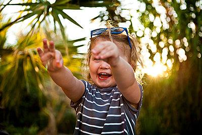 Kind im Urlaub - p1386m1452196 von beesch