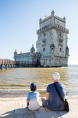 Belem Tower - p535m2020507 by Michelle Gibson