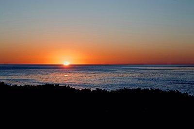 Sunset in Santa Cruz - p1399m1528876 by Daniel Hischer